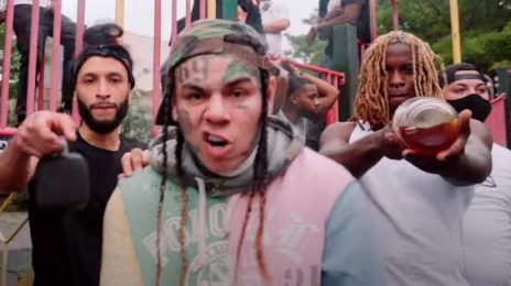6ix9ine Celebrates Release From House Arrest With New Video 'PUNANI'