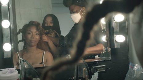 Behind The Scenes: Brandy - 'Borderline' Video