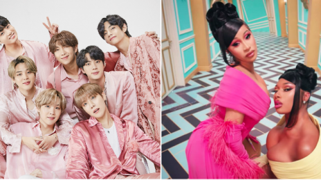 Hot 100:  BTS Bump Cardi B & Megan Thee Stallion's #WAP from #1 Again