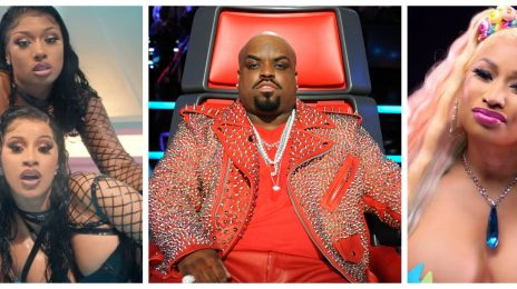 "CeeLo Green Slams Cardi B, Megan Thee Stallion, & Nicki Minaj For Sexual Content: ""It Feels Desperate"""