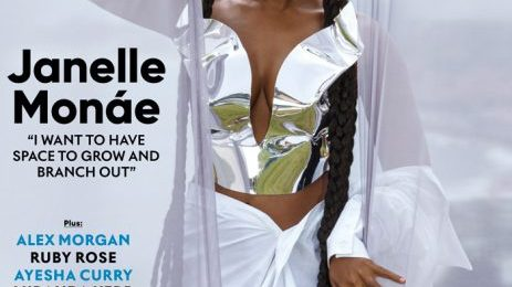 Hot Shots:  Janelle Monáe's Stunning 'SHAPE' Shoot [Photos]
