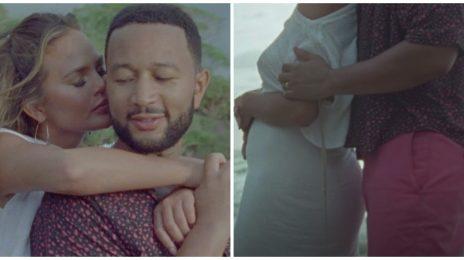 John Legend & Chrissy Teigen Announce Pregnancy In 'Wild' Video