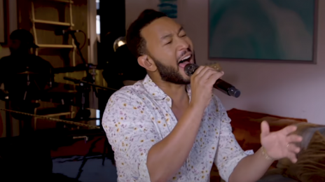 Watch:  John Legend Lights Up NPR's 'Tiny Desk (Home) Concert'