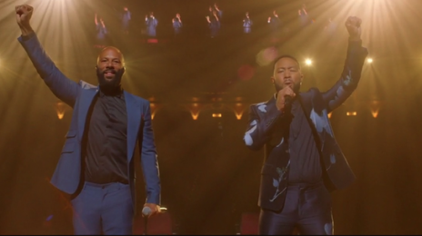 Watch:  John Legend & Common Honor John Lewis with 'Glory' Performance at DNC 2020