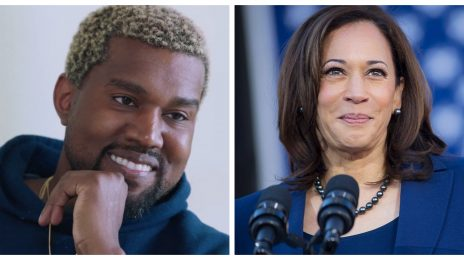 "Kanye West Congratulates Kamala Harris: ""Love From The Future President"""