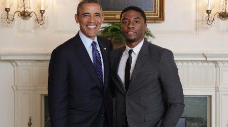 Barack Obama Issues Statement On Chadwick Boseman's Death