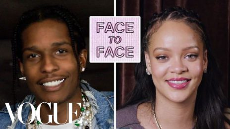Watch:  Rihanna & A$AP Rocky Reignite Romance Rumors With Flirty 'Vogue' Interview