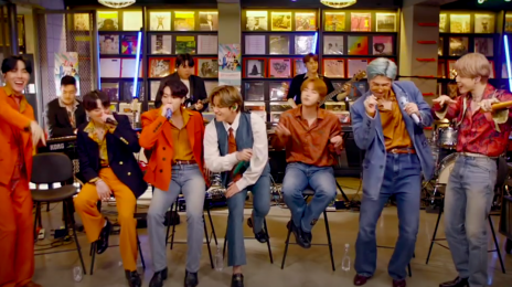 Watch: BTS Perform 'Dynamite,' 'Save Me,' & More For NPR's #TinyDesk Concert