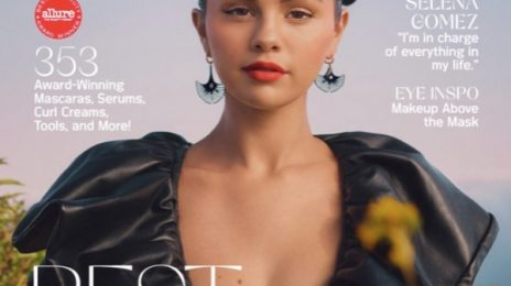 Selena Gomez Graces The Cover Of 'Allure' / Talks Growing Up On Disney Channel