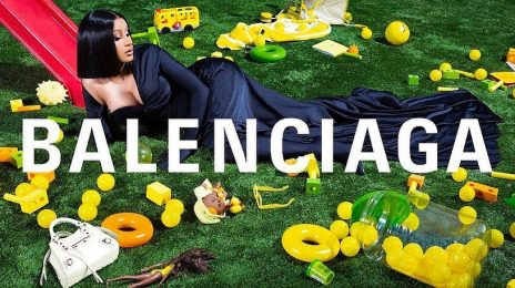 Cardi B Unveiled As New Face Of Balenciaga / Launches Campaign On The Louvre