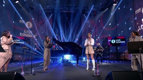 Little Mix Perform 'Holiday' & Harry Styles Cover On BBC Radio 1 Live Lounge