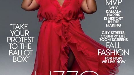 "Lizzo Covers Vogue's October Issue / Says ""I Want To Normalize My Body"""