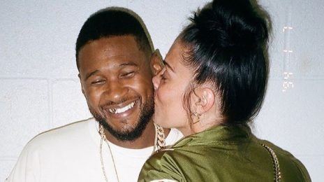 Usher & Girlfriend Welcome Baby Girl