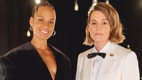 New Video:  Alicia Keys & Brandi Carlile - 'A Beautiful Noise (Live)'
