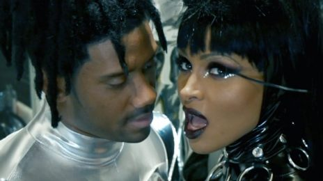 #Halloween: Ciara & Russell Wilson Recreate Janet Jackson & Busta Rhymes' 'What's It Gonna Be' Video