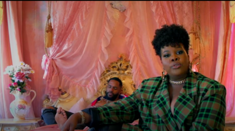 New Video:  Amber Riley - 'Creepin'