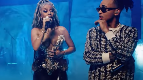 Watch:  Ozuna & Doja Cat Crank Out 'Del Mar' Live on 'Kimmel'