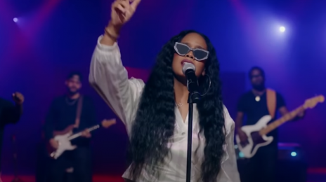 Watch:  H.E.R. Rocks 'Kimmel' With 'Damage' Live as Song Soars to #1 at R&B iTunes