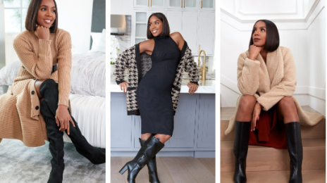 Kelly Rowland Named Face of JustFab / Unveils MORE Looks from Fall Collection [Photos]