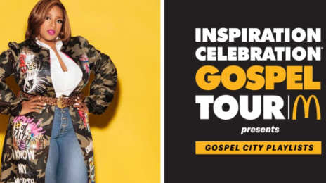 Exclusive:  Kierra Sheard Dishes on 2020 McDonald's Inspiration Celebration Gospel Tour & More