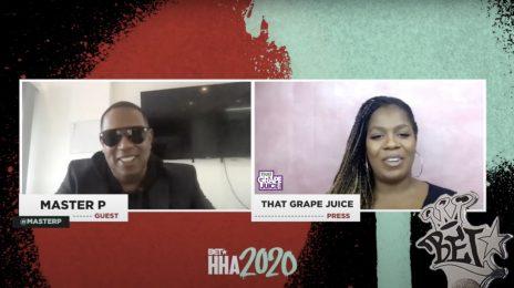 Exclusive: Master P On 50 Cent Endorsing Trump & Receiving 'I Am Hip Hop' Honor At BET Hip-Hop Awards