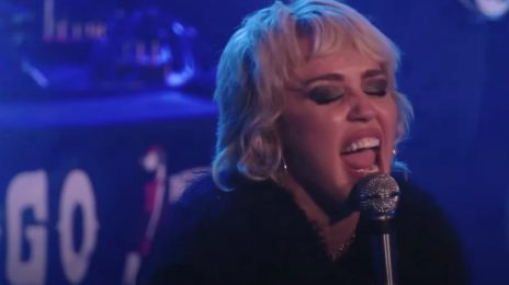 Watch: Miley Cyrus Performs 'Zombie' By The Cranberries