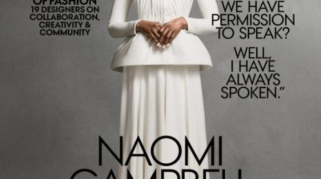 Naomi Campbell Covers US Vogue After 27 Years
