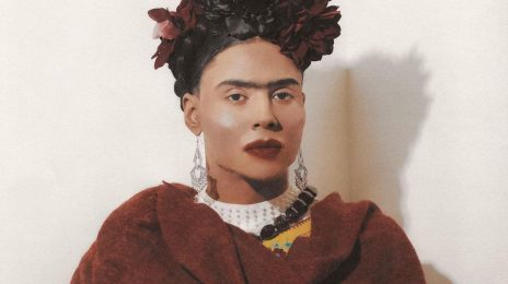 Quincy Transforms Into Frida Kahlo For Halloween