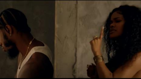 New Video:  Teyana Taylor - 'Concrete' [starring Iman Shumpert]