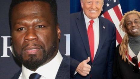 50 Cent Slams Lil Wayne for Taking Picture With President Trump