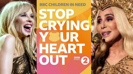 "Listen:  Cher, Kylie Minogue Lead Star-Studded Charity Single ""Stop Crying Your Heart Out"""