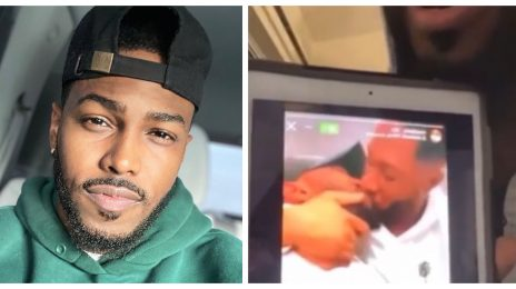 Social Media Rallies Around Gospel Singer Darrel Walls After He's Outed Kissing Boyfriend In Video