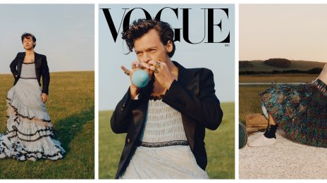 Harry Styles Rocks A Dress For Vogue's December Issue