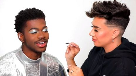 Lil Nas X Gets Make-Up Makeover By James Charles / Talks New Single 'Holiday' & Gay Romance Rumors