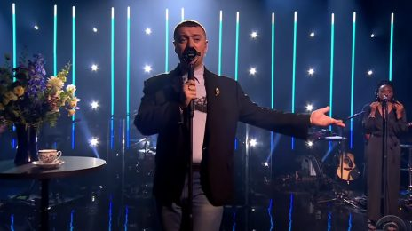 Watch:  Sam Smith Belts 'Diamonds' Live On 'The Late Late Show'