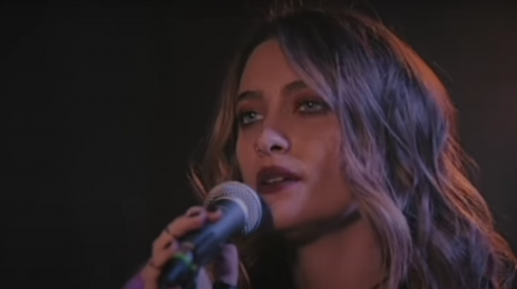 Paris Jackson Makes Late Night Debut With 'Let Down' Performance On Jimmy Kimmel Live