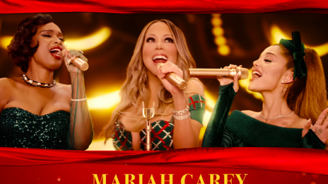 Mariah Carey Unwraps Cover For 'Oh Santa' Remix With Ariana Grande & Jennifer Hudson