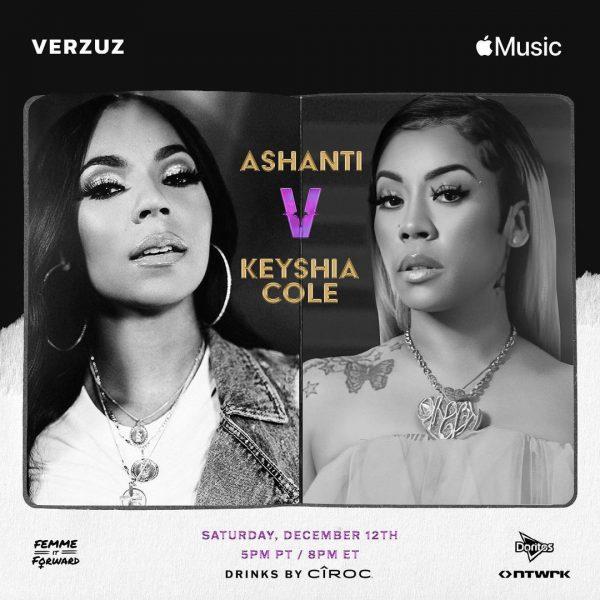 Official: Ashanti & Keyshia Cole #Verzuz Battle Announced ...
