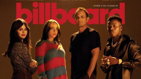 DaBaby, Billie Eilish, & Selena Gomez Cover Billboard With Interscope Boss John Janick