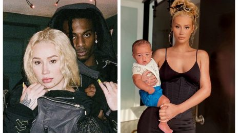 Iggy Azalea And Playboi Carti Appear To Settle Differences After New Video Of Him With Their Son
