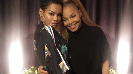 "Janet Jackson To Teyana Taylor: ""Don't Ever Let Go Of Your Gift"""