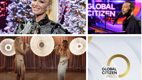 Performances:  2020 Global Citizen Prize Awards [Gwen Stefani, John Legend, Tori Kelly & JoJo, etc.]