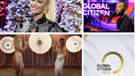 Performances:  2020 Global Citizen Prize Awards [Gwen Stefani, John Legend, Tori Kelly & JoJo, etc.]