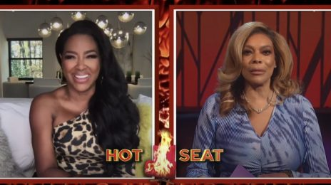 Kenya Moore Visits 'Wendy' / Dishes On Disastrous Date With Kanye West & New Season Of 'RHOA'