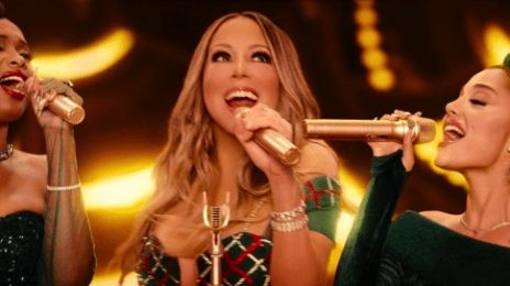 New Video: Mariah Carey, Ariana Grande, & Jennifer Hudson - 'Oh Santa'