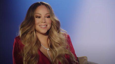 Watch: Mariah Carey Talks Christmas Special, Memoir And 'Oh Santa' Remix With Ariana Grande & Jennifer Hudson