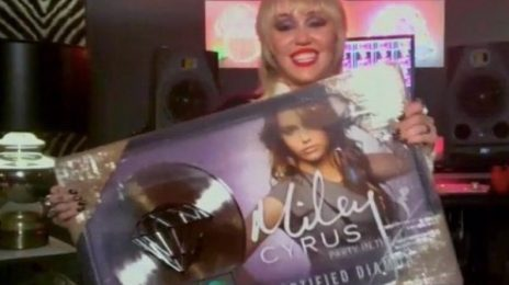 Miley Cyrus' 'Party In The USA' Certified Diamond