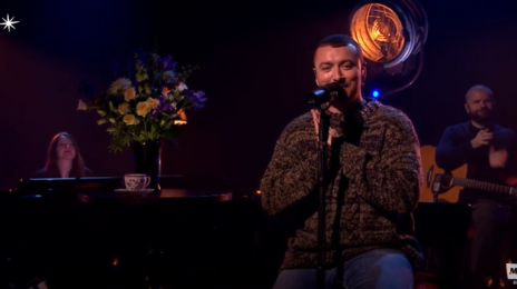 Watch:  Sam Smith Shines with 'Stay with Me' & 'Have Yourself a Merry Little Christmas' Live