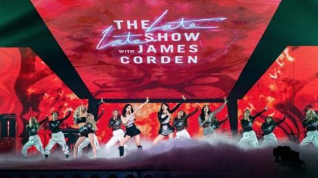 Did You Miss It?  BLACKPINK Rocked 'Corden' with Electric 'Pretty Savage' Performance