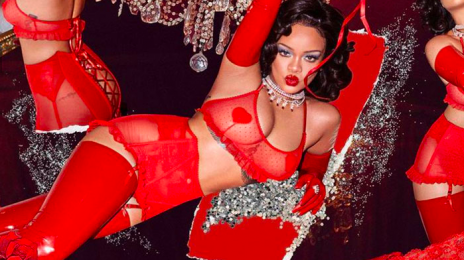 Rihanna Sizzles In New Savage X Fenty Valentine's Day Campaign